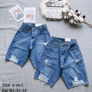 quần short jeans nữ rách kiểu giá rẻ