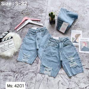 quần short jeans nữ giá rẻ
